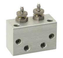Block Manifold Series Flow Controls