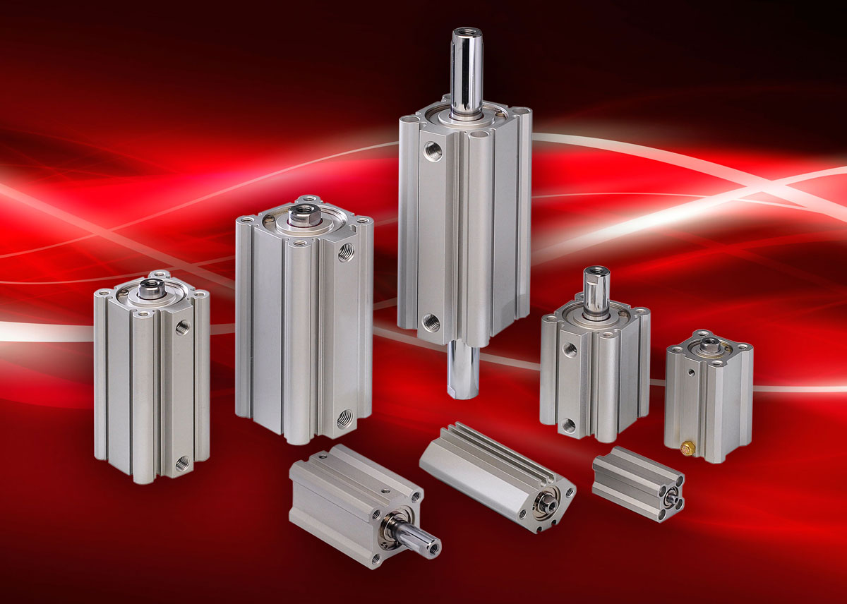 Clippard Universal Compact Extruded Cylinders