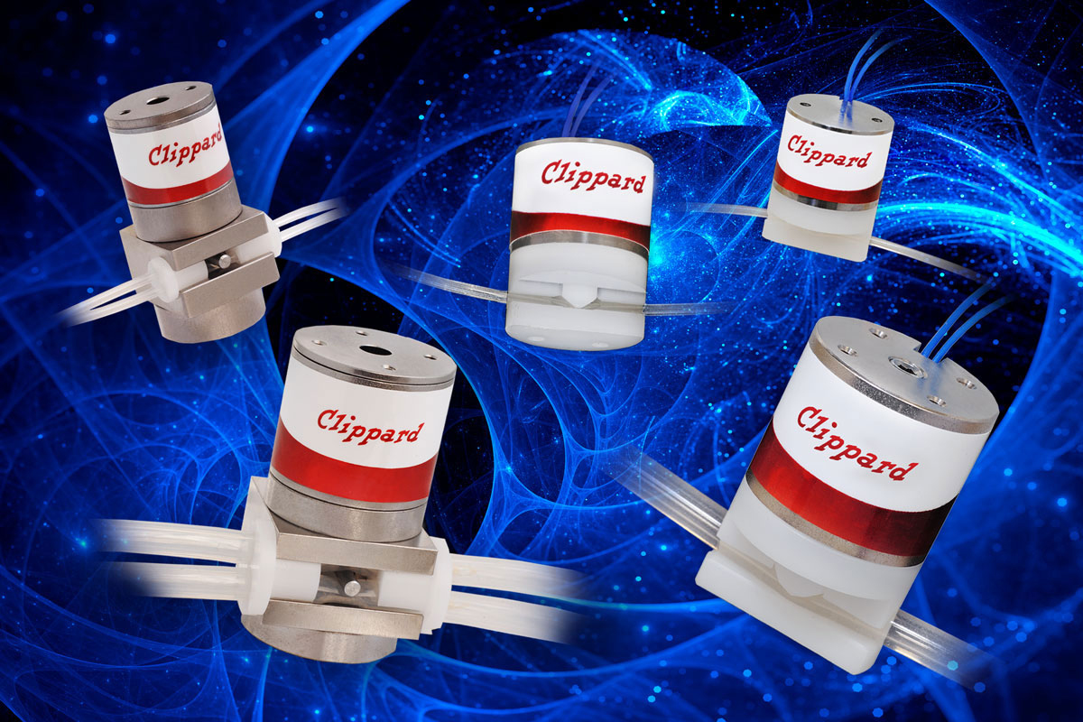 Clippard NPV Series Miniature Pinch Valves