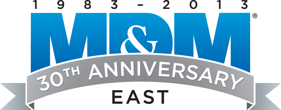Visit Booth #4048 at MD&M East 2013