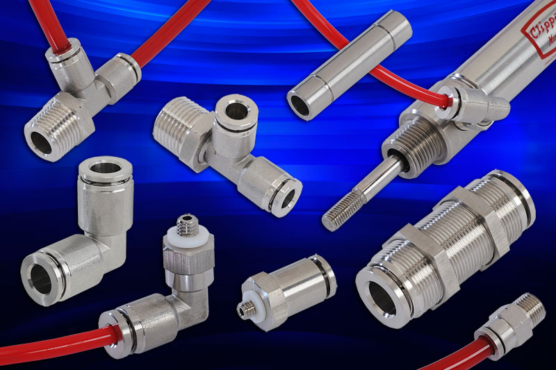 Stainless Steel Push-Quick Fittings