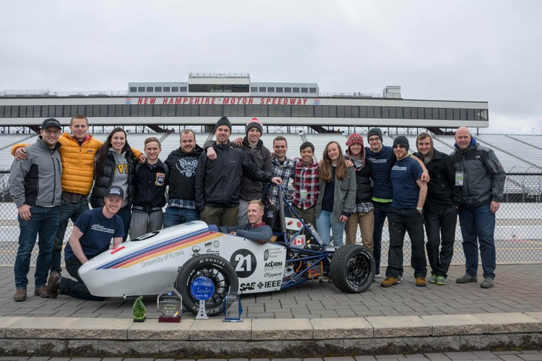 UVic Hybrid Team Wins First Place