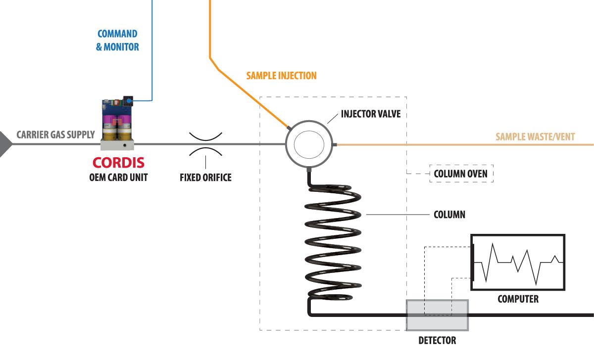 Cordis Application: Gas Chromatography