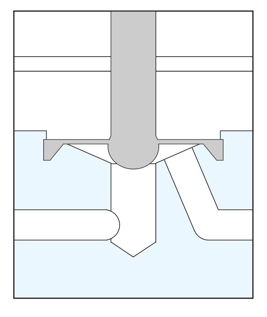 Diaphragm Isolation Valve Diagram