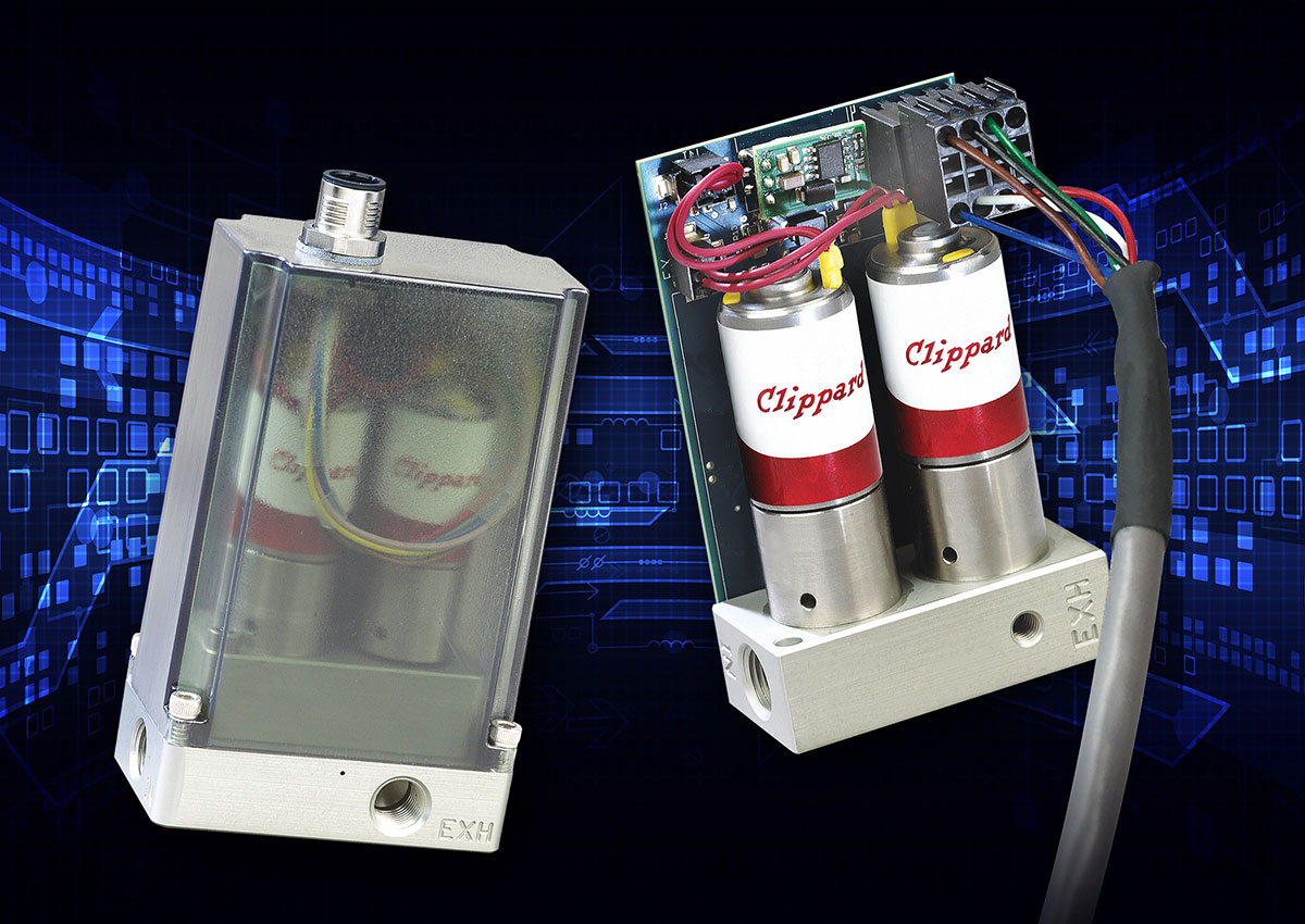Clippard Cordis: High Resolution Digital Proportional Pressure Controls