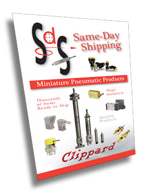 Clippard Same-Day Shipping Program Brochure